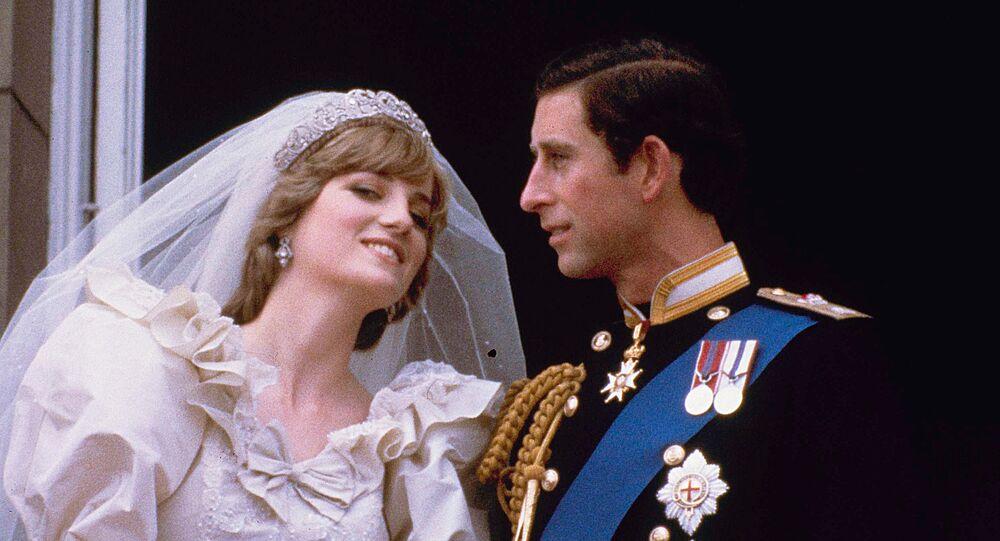 la princesse Diana et le prince Charles