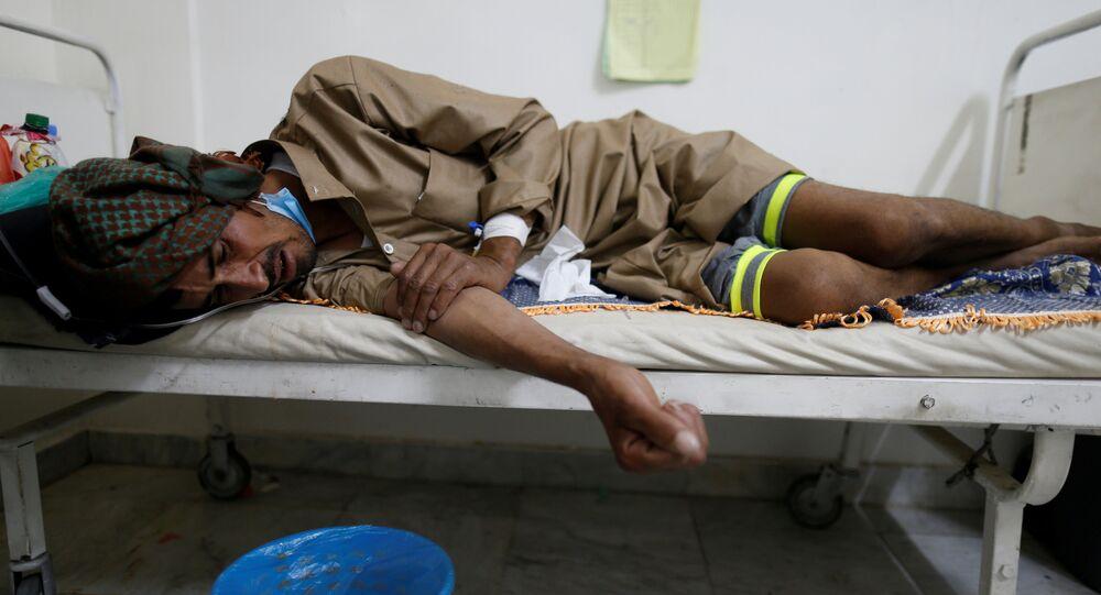 Epidémie de choléra au Yémen