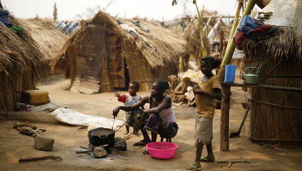 Un camp de réfugiés en Centrafrique - Sputnik France