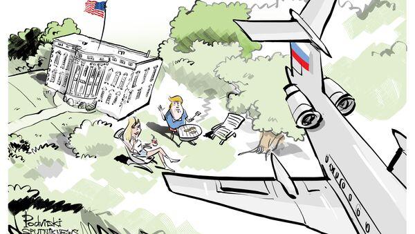 Traité Ciel ouvert: un avion militaire russe a survolé la Maison-Blanche - Sputnik France