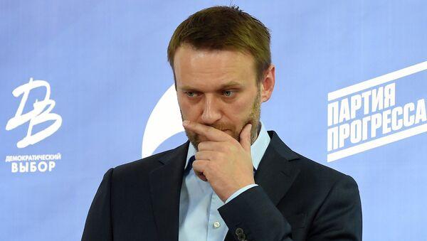 Alexei Navalny - Sputnik France
