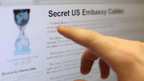 Le site WikiLeaks - Sputnik France