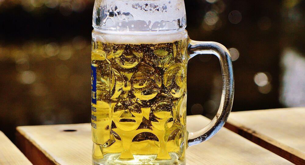 Un bock de bière