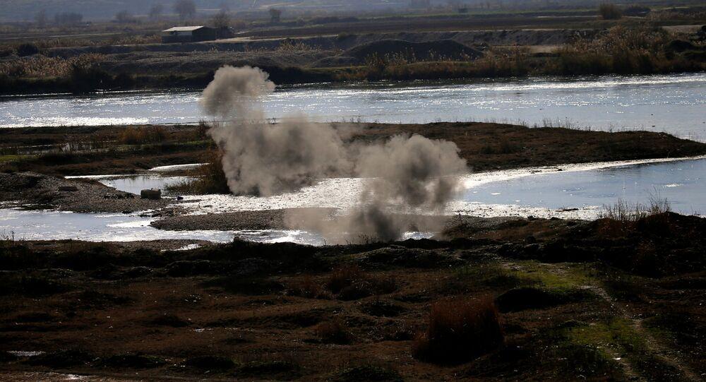 Combats contre Daech dans les alentours de Mossoul, Irak