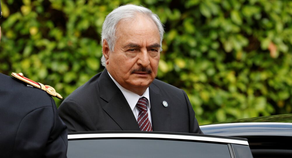 Le maréchal Haftar, image d'illustration