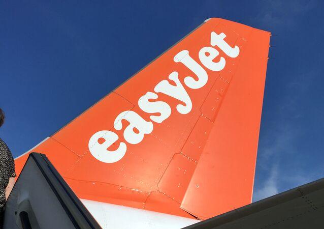 Un avion d'EasyJet
