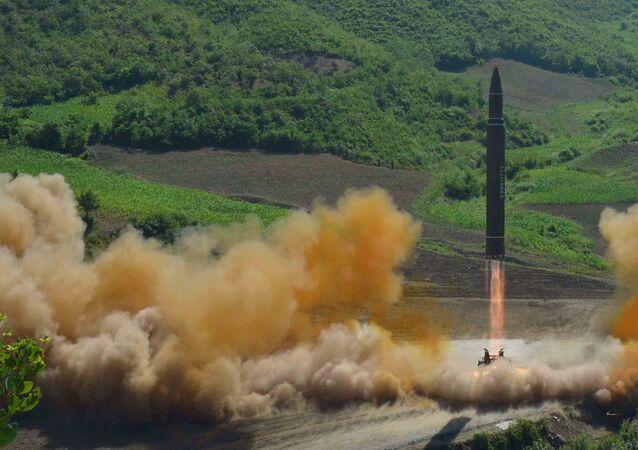 Tir d'un missile balistique nord-coréen