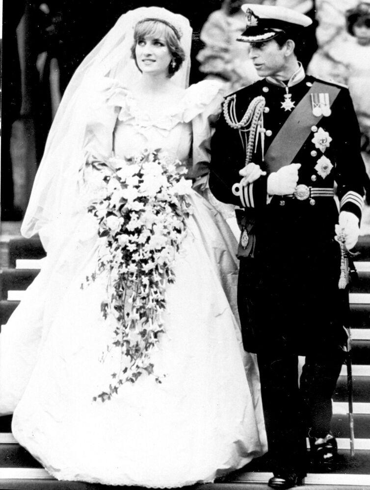 Le mariage du prince Charles et de la princesse Diana, 1981