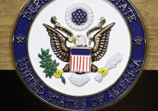 Le logo du Département d'Etat américain