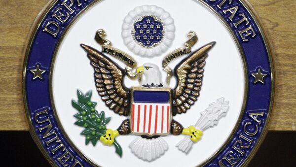 Le logo du Département d'Etat américain - Sputnik France