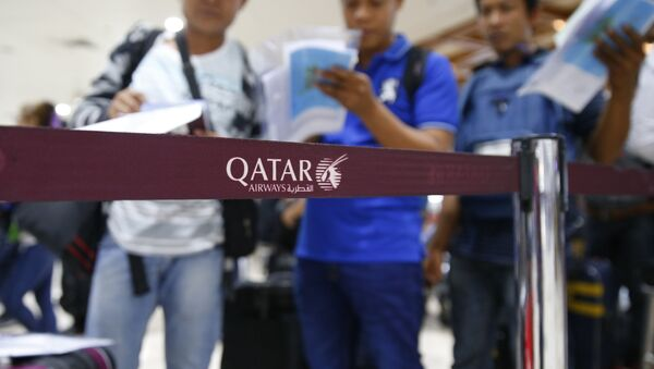 Qatar Airways - Sputnik France