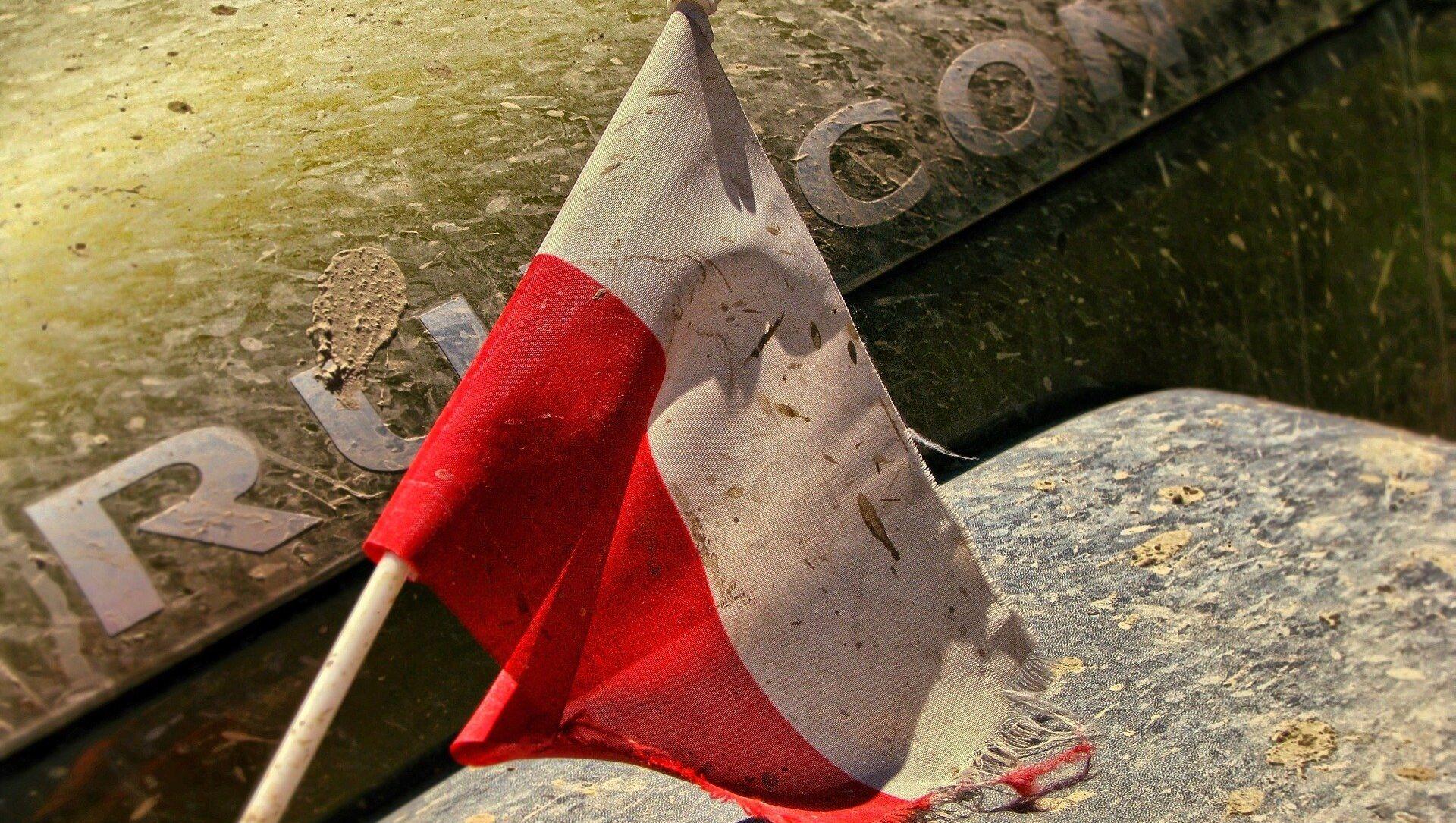 Un drapeau polonais - Sputnik France, 1920, 10.08.2021