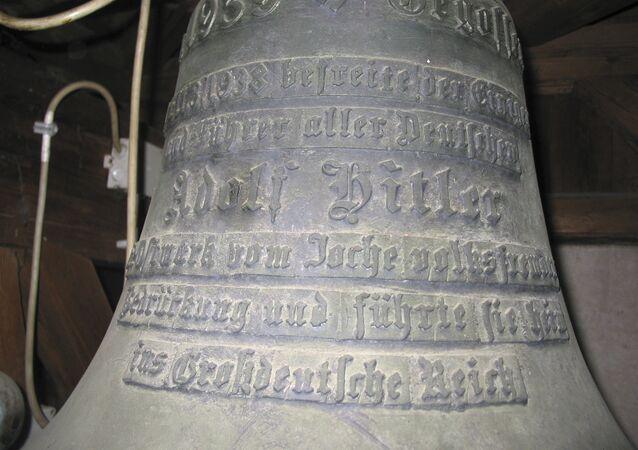 Une cloche portant le nom d'Hitler dans le château autrichien de Wolfpassing (image d'archives)