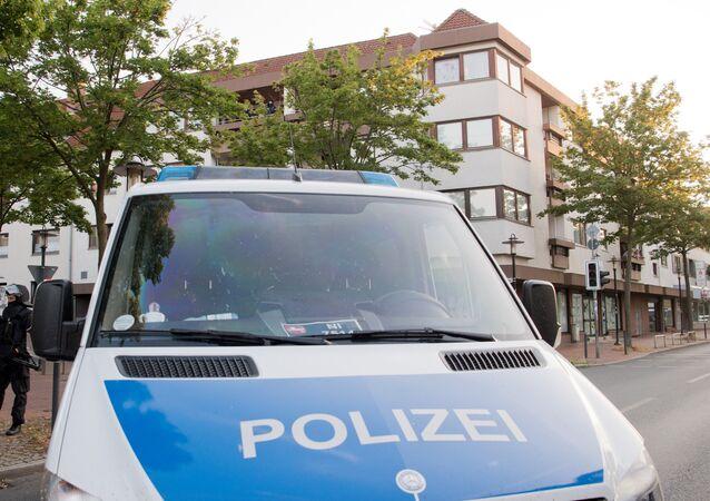 Police allemande