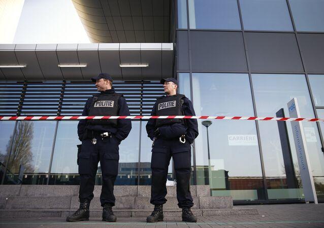 la police aux Pays-Bas
