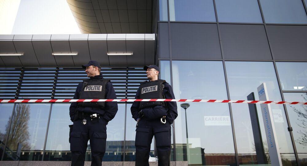 Police néerlandaise. Image d'archives