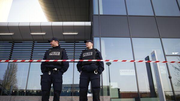 Police néerlandaise. Image d'archives - Sputnik France