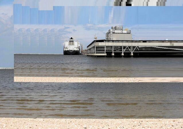 Pétrolier US Clean Ocean en Pologne. Archive photo