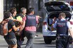 Une personne blessée pendant l'attaque à la voiture-bélier à Barcelone