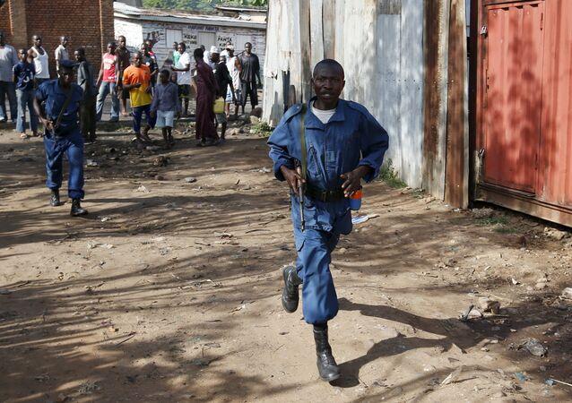 La police de Bujumbura (image d'archives)