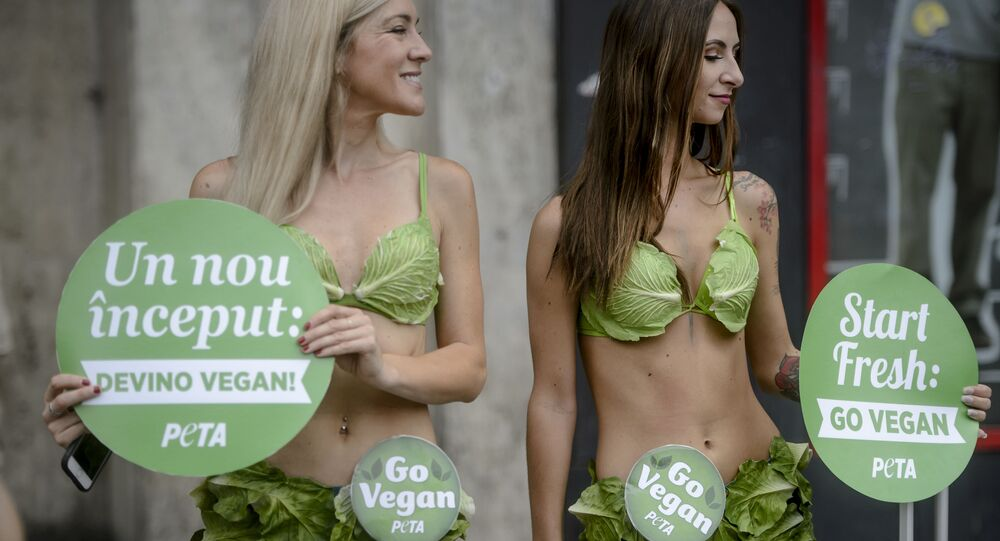 Des activistes vegans