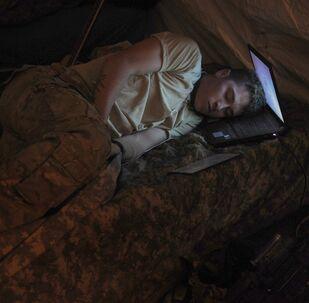 Un soldat américain. Archive photo