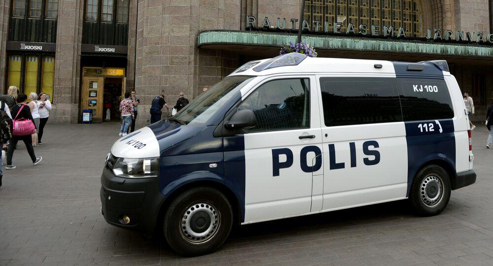 La police finlandaise