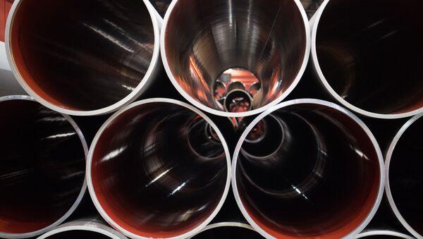 Construcción del gasoducto Nord Stream (archivo) - Sputnik France