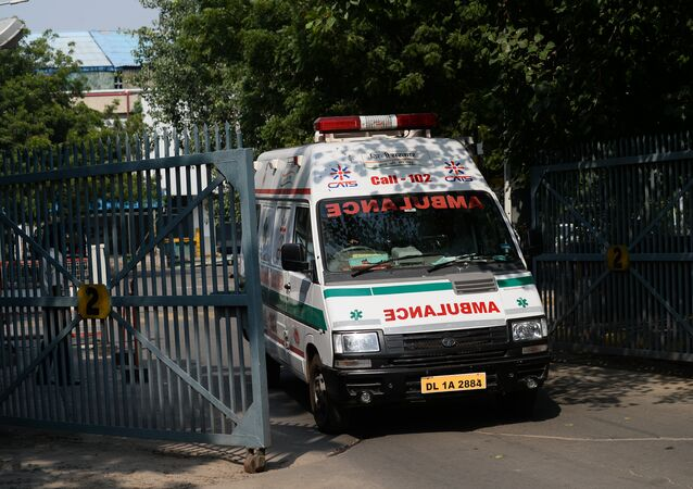 Ambulance indienne