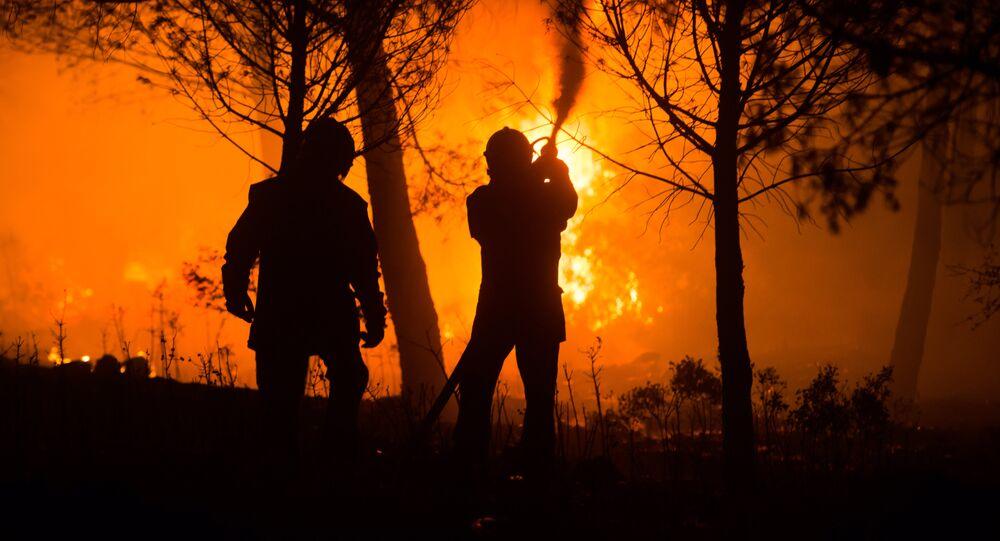 Incendies dans le sud de la France