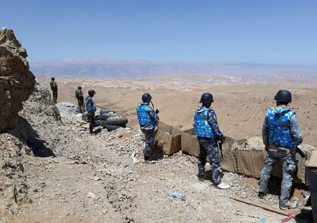 Des militaires syriens dans la région du Qalamoun