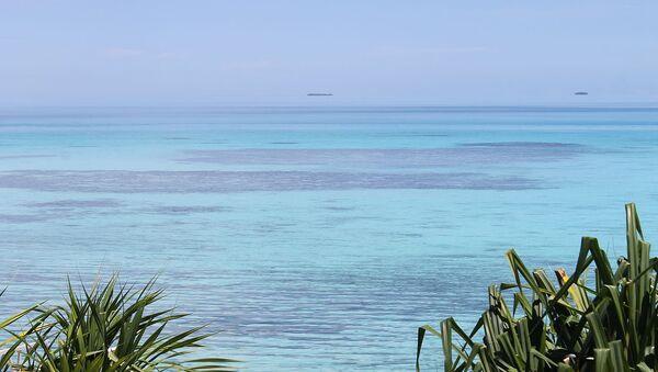 View from Vaiaku Lagi Hotel, Funafuti - Sputnik France