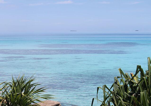 l'océan Pacifique, image d'illustration