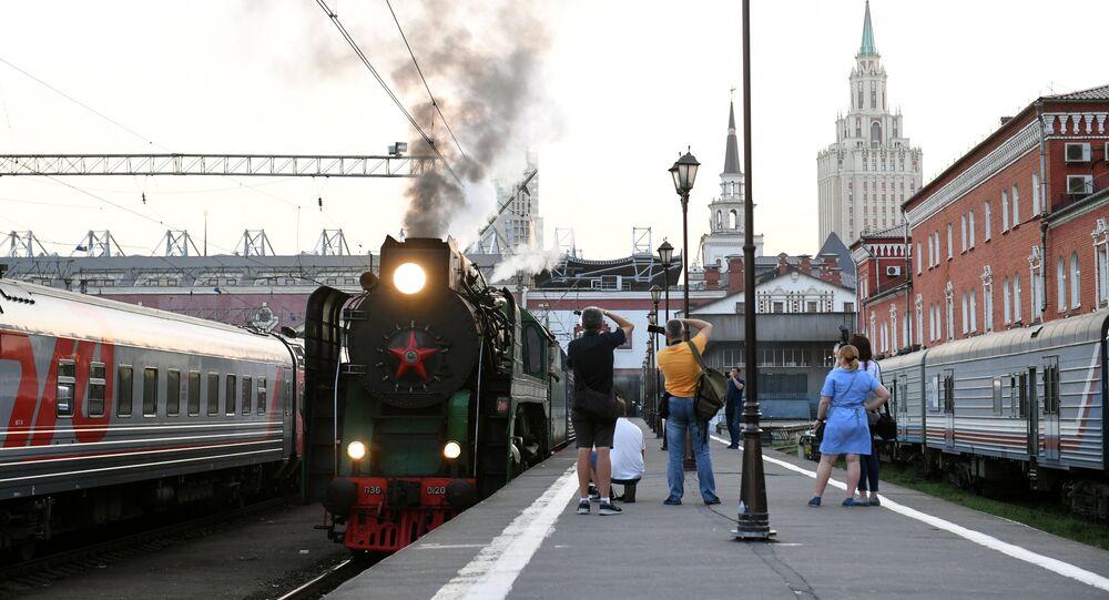 Le train touristique la Russie impériale