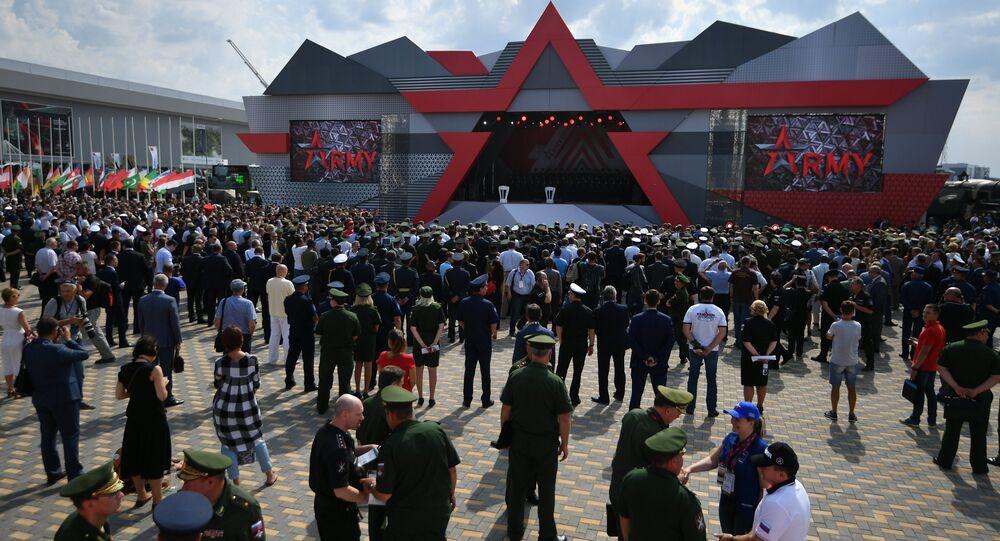 Открытие международного военно-технического форума Армия-2017