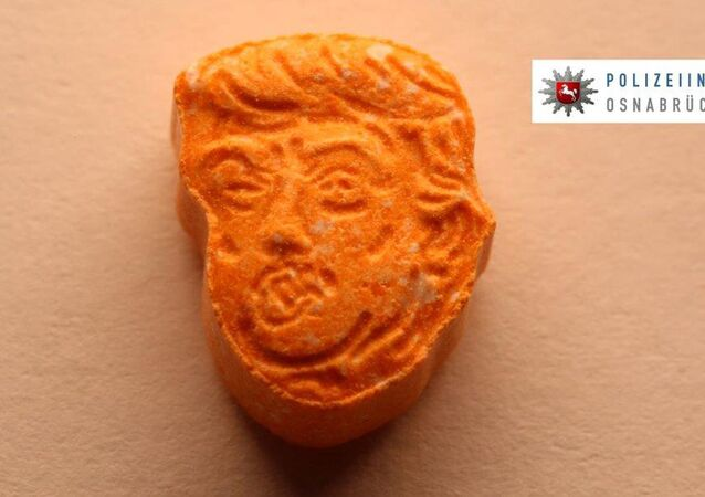 ecstasy à l'effigie de Trump
