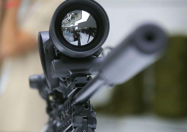 Un fusil de sniper (image d'illustration)