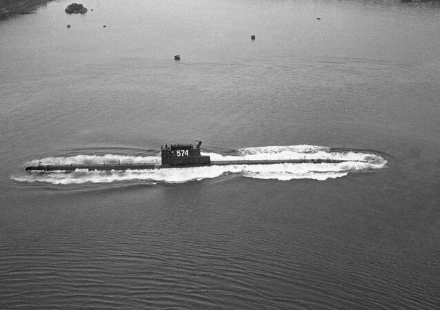 un sous-marin soviétique
