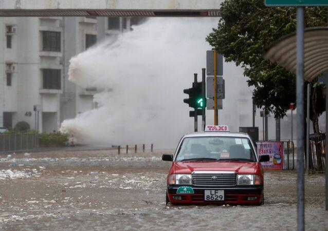 typhon en Chine, août 2017