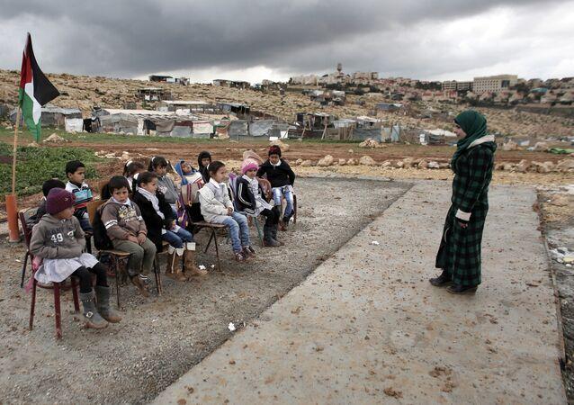 Une école en Palestine