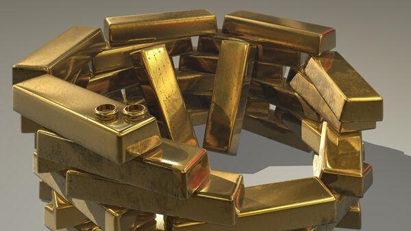Gold ingots - Sputnik France