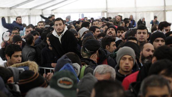 Des migrants en Allemagne - Sputnik France