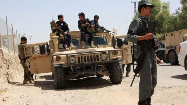 Militaires aghans dans la province de Helmand - Sputnik France