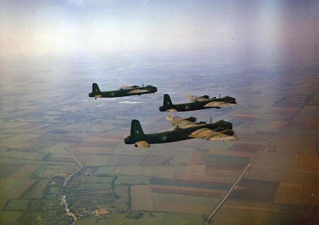 Un bombardier britannique Stirling Short