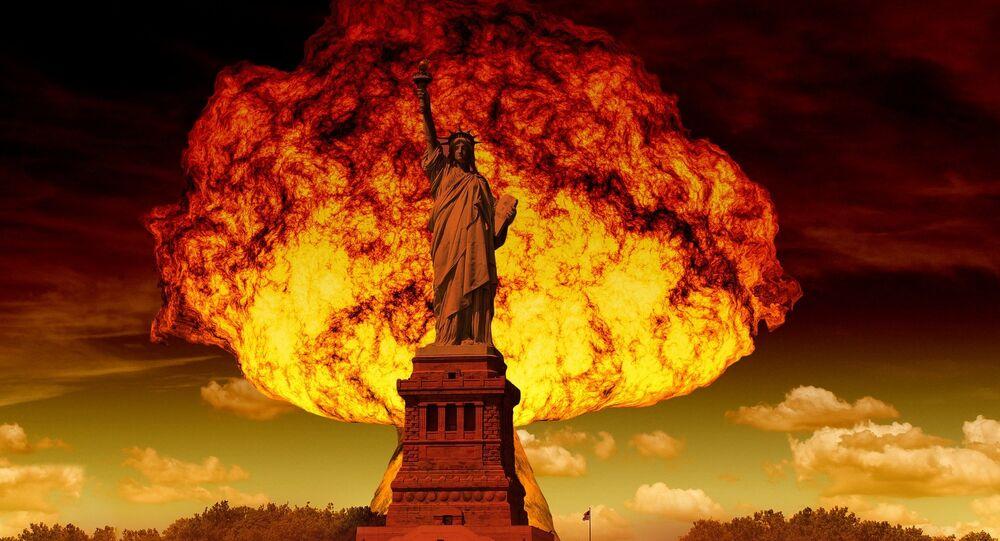 Explosion nucléaire. Image d'illustration