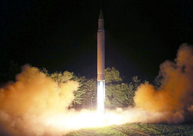 Tir de missile nord-coréen (archives)