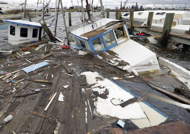 Conséquences de l'ouragan au Texas