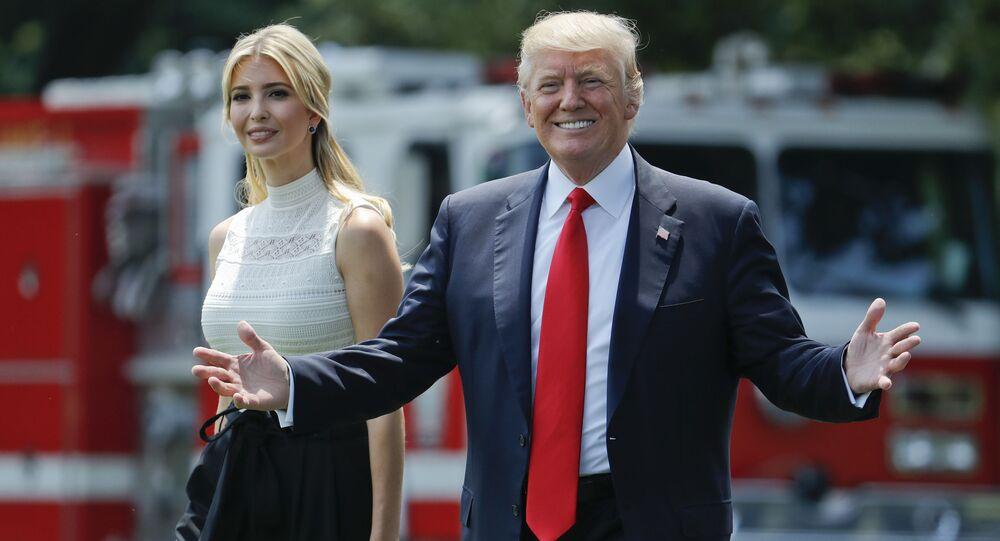 Donald Trump et sa fille Ivanka