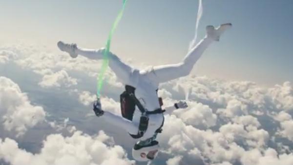 «Mon inspiration est l'air pur»: cette danse aérienne fait rêver - Sputnik France