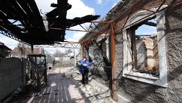 Donetsk tras bombardeos de Kiev - Sputnik France